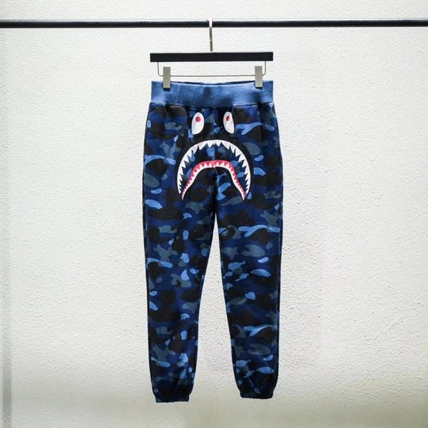 Hot sell Outdoor Hip-hop Fashion Short Pants Men's Shark Head Camouflage Youth Casual Panties Pants In The Pants Sizes M-2XL 08