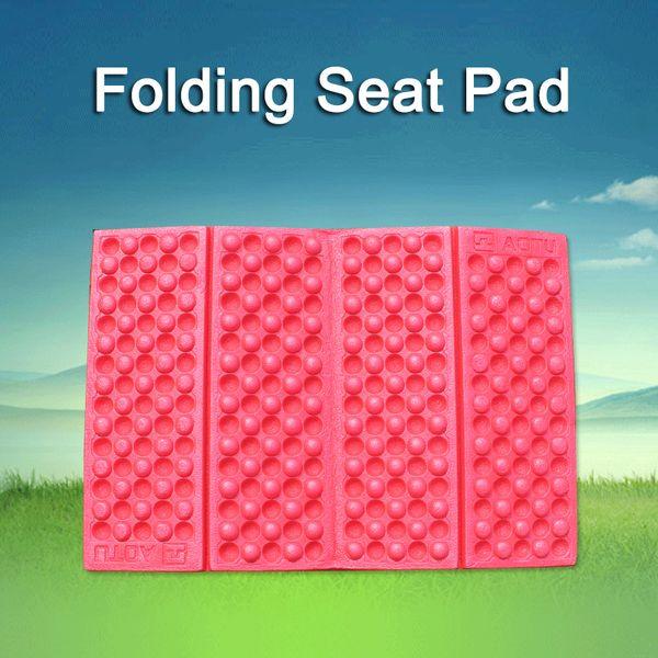 Camping Mat Seat Foam Pads EVA Folding Portable Outdoor Beach Moistureproof Mattress Pad Seat Cushion Egg Slot Yoga 6 Colors