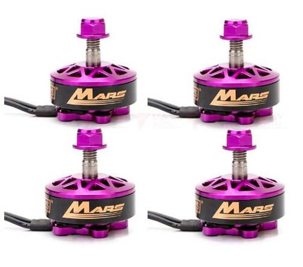 4pcs/lot DYS FPV racer brushless motor Mars 2400KV/2750KV thread 3-6s for 230/250/280/300 multirotor Quadcopter FPV