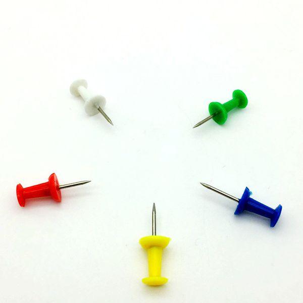 3000 pcs / set espárragos forma multi color envío gratis 22 mm tamaño pasador de la oficina pin