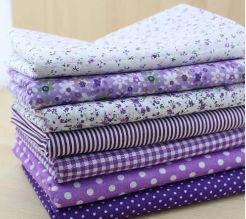 4PCS/lot 40cmx50cm Floral Dots Cotton Fabric Fat Quarter Bundle Quilting Patchwork Sewing Clothe Bedding 2018