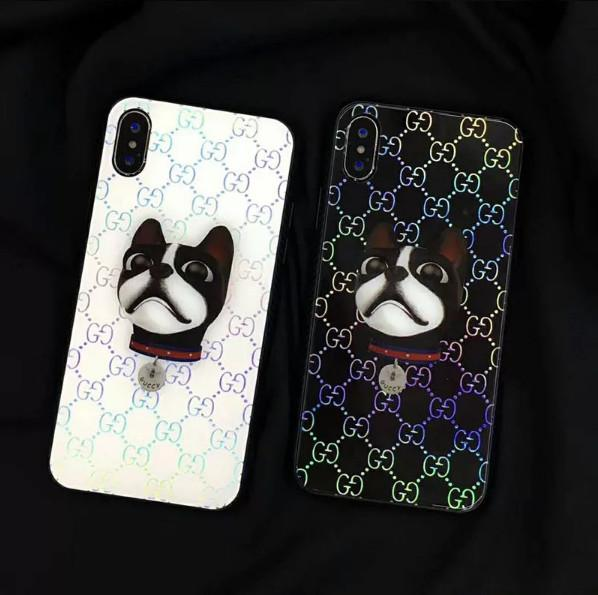 Simple web celebrity apple 7plus phone case new popular logo couples 8p silicone all-inclusive iPhoneX personality men and women