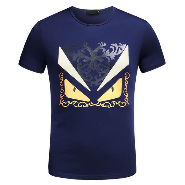 T-shirt di marca Tide nuova T-Shirt in cotone a maniche corte T-shirt da uomo Slim Fit Tee Desinger MENS T-shirt di alta qualità per uomo
