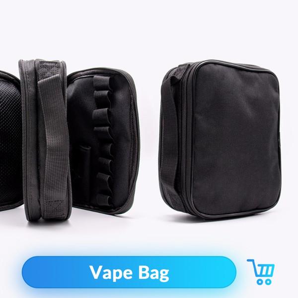 Vape Case Double deck Vapor Tool Kit Master Pocket Vape Bag for RTA DIY Tool Box Mod Electronic Cigarettes Vape Case
