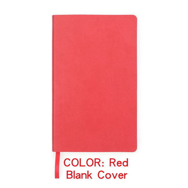 Red cover 210mm x 130mm
