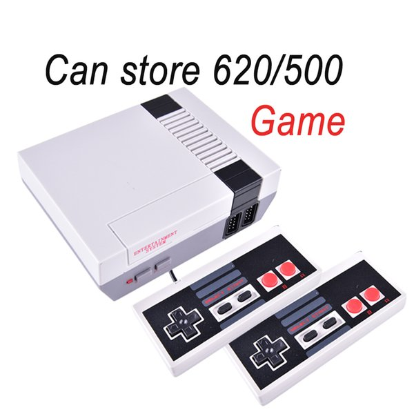 top popular Hot sale Mini TV Game Console Video Handheld for NES games consoles with retail boxs OTH733 2019