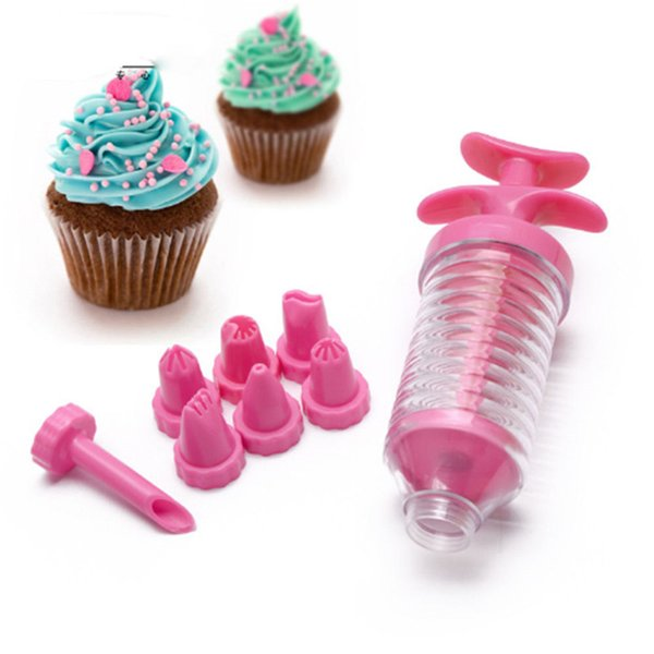 Deco Icing Pen Cake Decorating Tools Nozzles Set Piping Cream Syringe Tips Muffin Dessert Decorators With Pastry Bag Coupler Tip