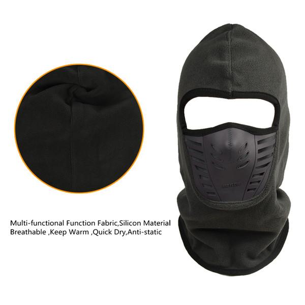 Winter Radfahren Gesichtsmaske Winddicht Winter Wärmer Fleece Bike Full Face Schal Maske Hals Für Outdoor Ski Facemask