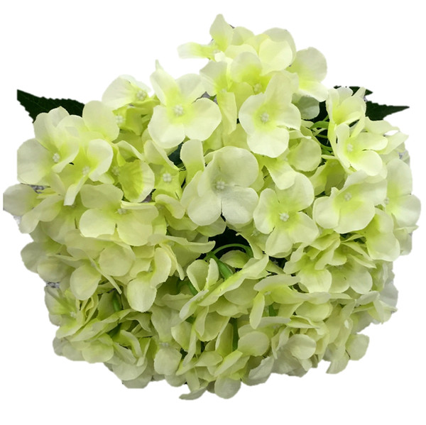 best selling artificial flowers silk hydrangea for festival decoration commercial decoration wedding aisle flower bouquet