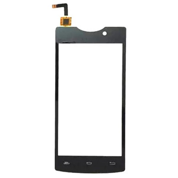 """4.5 """" Touchscreen For Micromax D320 D 320 Touch Screen Front Glass Capacitive Sensor D320 D 320 Touch Screen Panel With Sticker"""