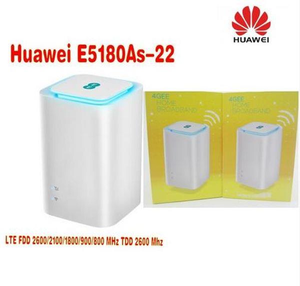 Unlocked Huawei E5180 E5180as-22 4G LTE Cube WiFi Hotspot Home wireless router