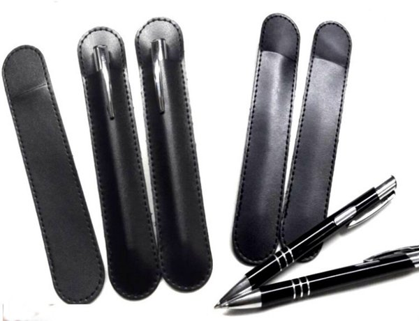 High Quality Business PU Black Pen Bag Suit For A Pen For NEW Gift Office FEDEX Free Shipping