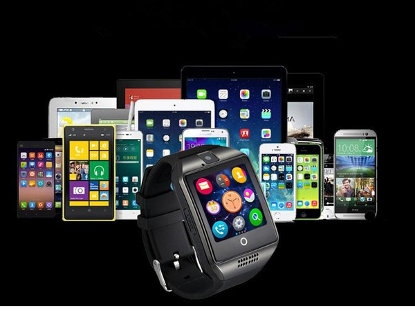 Q18 Bluetooth Smart Watch 1.5 Inch Sport Watch SIM Card Telephone With 2.0M Cameria Wearable Technology For Andriod IOS Apple Q18-2