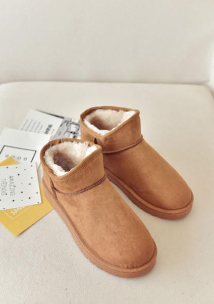2018 CHAUD Femmes Hiver Coton intérieur Pantoufles Chaud Accueil Chaussures Bottes Courtes Bottes Femme Bottes De Neige Taille 36-40