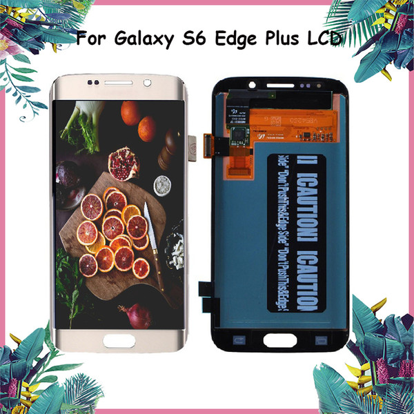 Original Repair Replacement For Samsung Galaxy S6 Edge Plus LCD Display Digitizer Touch Screen For Samsung S6 LCD G928 G928A G928T G928I