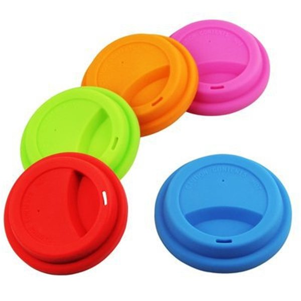 Food Grade Silicone Cup Cover Leak Proof Monolayer Cups Cap Mug Tumbler Suction Seal Lid Covers Tool Anti Dust 1 45ss gg