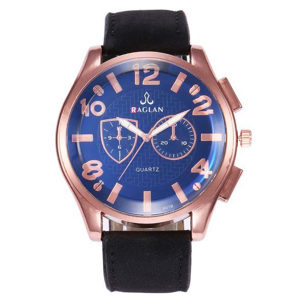 Explosive models men's large dial sports military belt watch Creative quartz watch men's