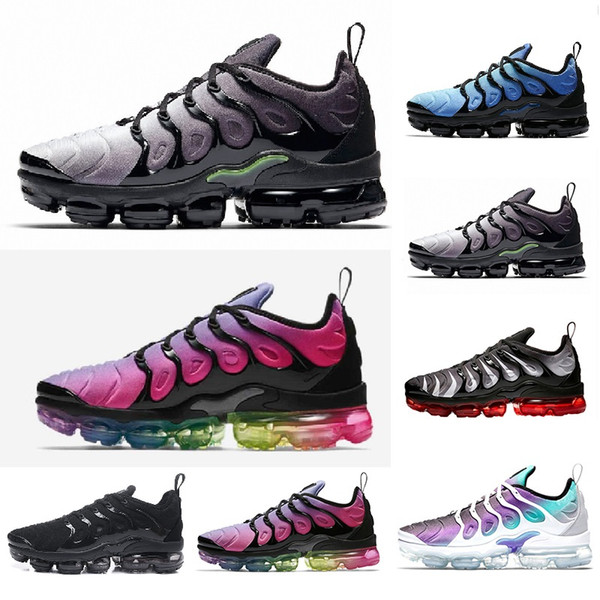 newest 40ce0 8c1ee New Arrivals 2019 TN Olive White Red Metallic White Silver PLUS Male Shoe  Pack Triple Black Men Sneakers Running Shoes Plus US5.5 11 Shoes Running  Boys ...