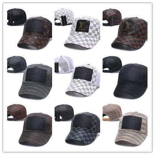 2018 Luxury Women Men Brand Designer Summer Style Casual Cap Popular Couples Mesh Baseball Cap Avant-garde Patchwork Fashion polo Cap Hats