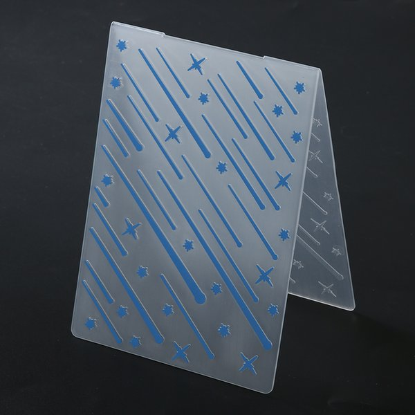 Plastic Embossing Folder DIY Scrapbooking Photo Album Card Paper Crafts Party Decoration Decorative Embossing Stencils