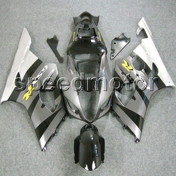 23colors+Gifts Injection mold silver white GSXR1000 03 04 motorcycle Fairing for Suzuki GSX-R1000 2003 2004 K3 ABS plastic kit