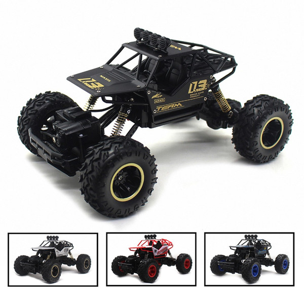 Electric RC Car Rock Crawler Remote Control Toy Cars On The Radio Controlled 4x4 Drive Off-Road Toys For Boys Kids Gift