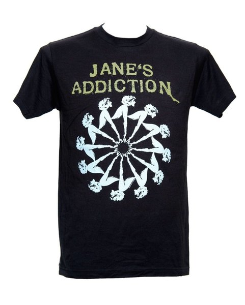 Fashion 2018 Summer JANE'S ADDICTION - LADY WHEEL - Official Licensed T-Shirt - New M L XL Brand Clothing Hip-Hop Top
