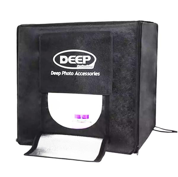 40 x 40 CM DEEP 4 LED Foto Fotografia Estúdio de Vídeo Iluminação Tenda Profissional Portátil LED Softbox Box Set
