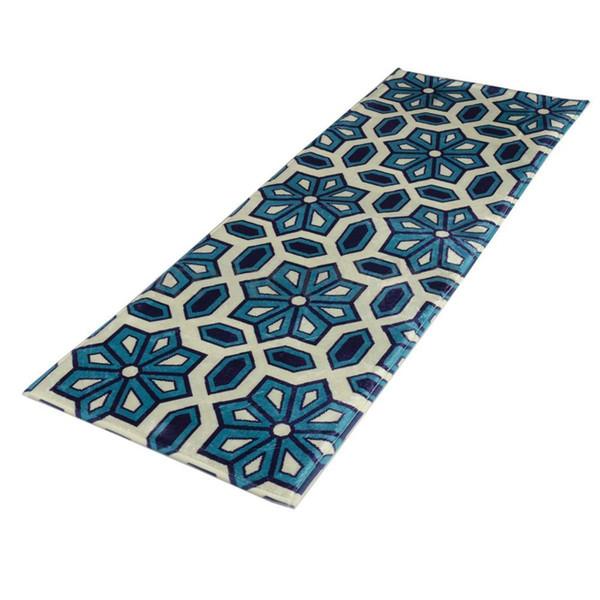 Anti slip Doormat Floor Mat Carpet Rug Cushion Office Home Kitchen Rug 120x45cm