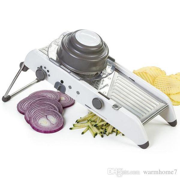 Vegetable Cutter Multifunctional Adjustable Mandoline Vegetables Slicers Manual Vegetable Cutter Potato Carrot Grater Fruit Vegetable Tools