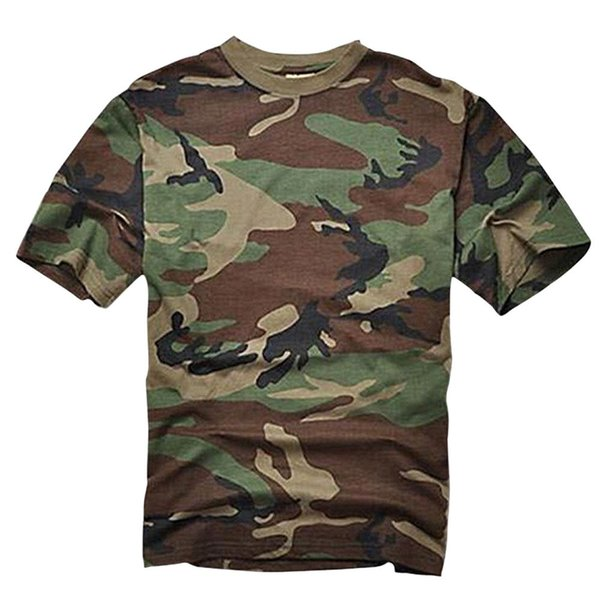 Summer T-shirt Men Breathable Army Tactical Combat T Shirt Military Dry Camo Camp Tees JG Camouflage