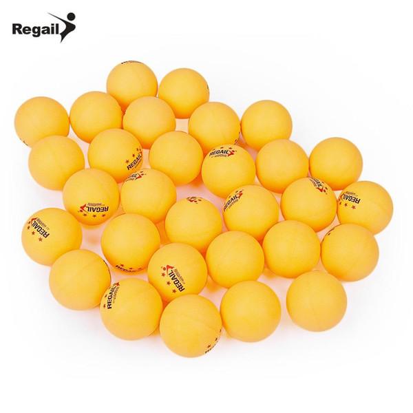 REGAIL 30 Stücke 3-sterne Tischtennisbälle Set 40mm Praxis Ping Pong Bälle Unterhaltung Professionelle Ping Pong Ball für Sport