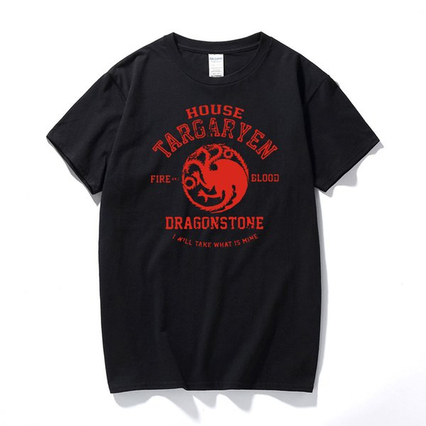 Games Of Thrones T Shirts A Song Of Ice And Fire Targaryen Top Tee Shirt Summer Hipster T Shirt Tshirt For Men Women Euro Size