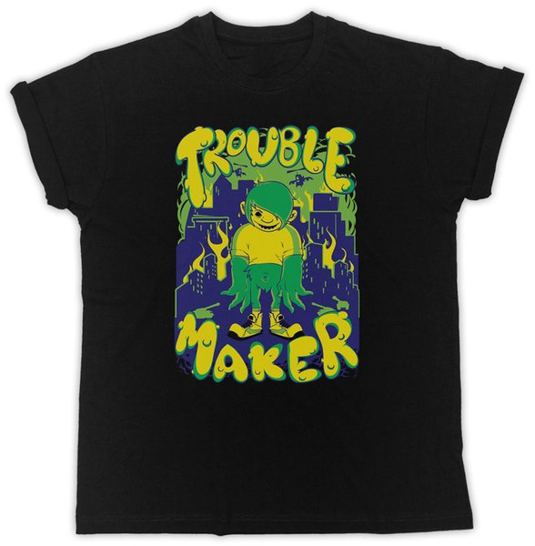 Trouble Maker Movie Poster Slogan Ideal Gift Unisex Black T Shirt Buy T  Shirt Designs Printing Tee Shirts From Printyou, $11 41| Dhgate Com