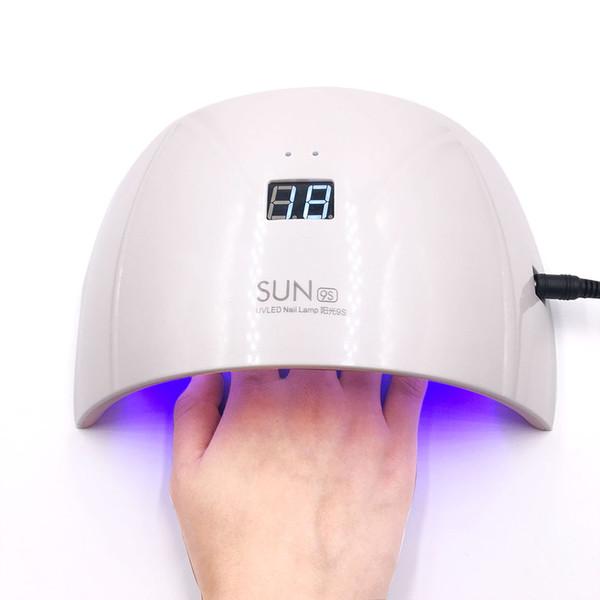 SUN9S LED Lámpara Nail 24W UV Secadora de lámpara para manicura Art LED UV Nail Sensor de luz automática Secadora de gel Máquina