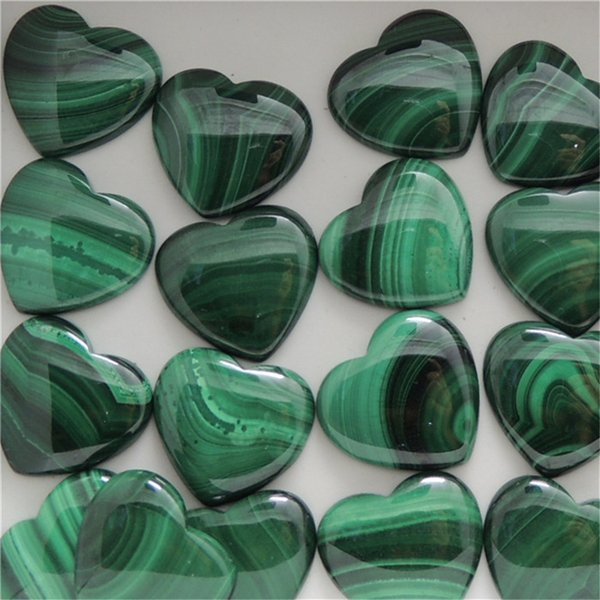 Various Malachite Stones from Africa - Natural Polished Gemstone Supplies for Wicca, Reiki, and Energy Crystal Healing Wholesale