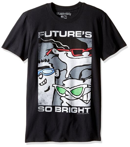 F 2018 Crossfit T Shirted, Edd N Eddy Gelecek 's Parlak Grafik T Gömlek Erkekler Komik Rahat Streetwear Hip Hop Baskılı T Gömlek