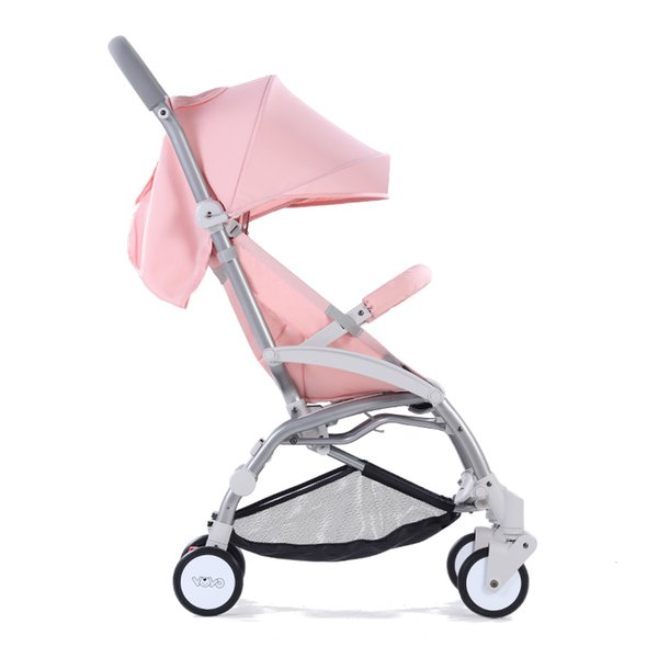 Mini Portable And Foldable Baby Stroller Can Sit Can Lie Infant Carriage Travel With Umbrella And Pocket For 0-3T Newborns