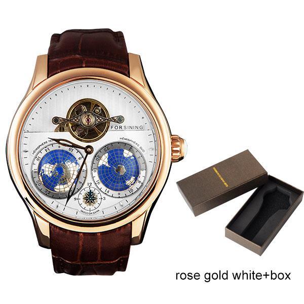 Caja de oro rosa de Wgite