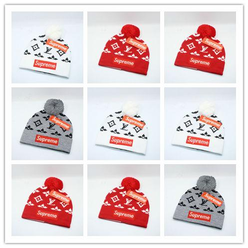 Top Selling Luxury Men Women Beanies Letter Embroidery Beanies Knitted Caps Men Women Sport Ski Hats Hight Quality