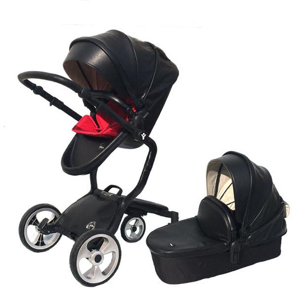 Alta paisagem All-Terrain Egg Shell, elegante all-in-1 carrinho de bebê infantil Baby Stroller Travel System criança carrinho de bebê carrinho de bebê