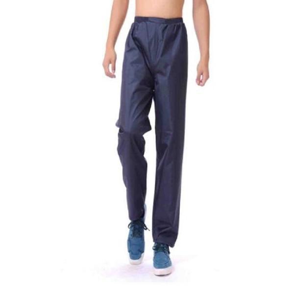 Pantalons de pluie hommes longs pantalons de pluie coupe-vent moto moto pour le cyclisme randonnée pantalon imperméable à l'eau