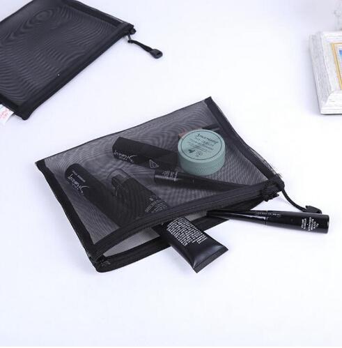 Ocasional Saco de Viagem Cosméticos Mulheres Zipper Maquiagem Transparente Maquiagem Caso Organizador Bolsa de Armazenamento de Higiene Pessoal Beauty Kit de Lavagem Sacos