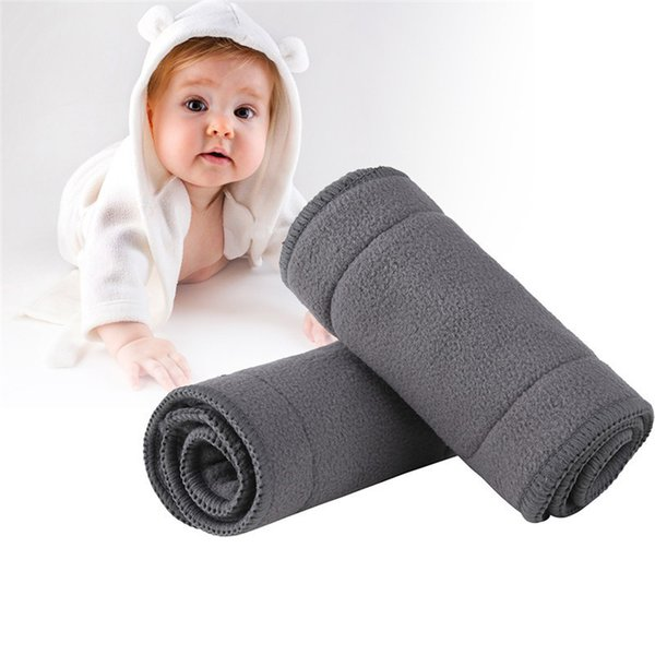 1PCS 4 Layers Bamboo Charcoal Baby Diapers Young Children Washable Nappies Infants Reusable Nappy For Baby Care