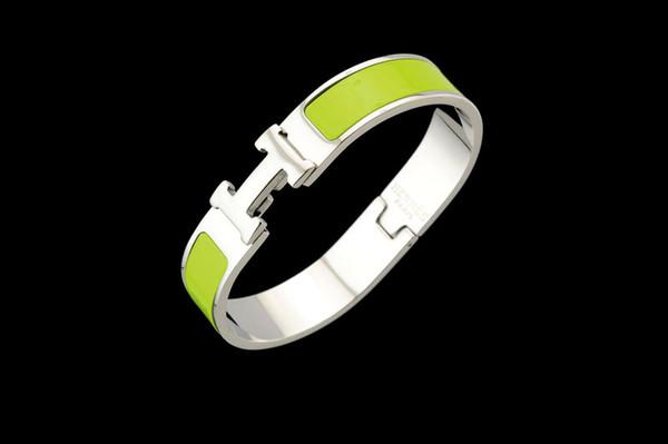 Factory Price 2019 Celebrity Design Letter Silver Metal Belt Bracelet Fashion Letter Metal Buckle Bracelets With Box
