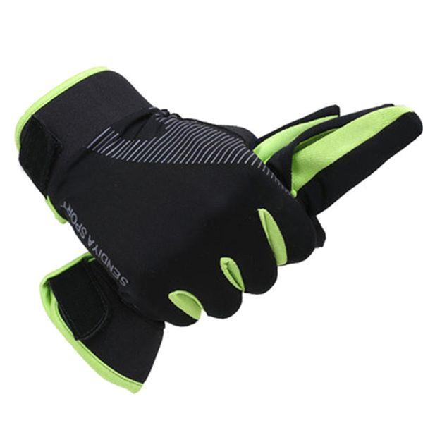 Großhandel Outdoor Laufhandschuhe Vollfinger Touchscreen Radfahren Handschuhe Männer Frauen Fitness Sport Atmungsaktiv Sommer Handschuhe Reiten Von