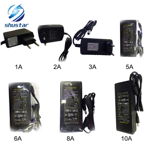 LED Power Supply 110-240V AC DC 12V 2A 3A 4A 5A 6A 7A 8A 10A 12.5A switching Led Strip light 5050 3528 transformer adapter lighting