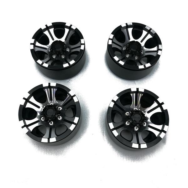 1/10 RC Crawler 1.9 inch climbing tire metal wheel hub SCX10 D90 metal clip wheel 4pcs/Lot