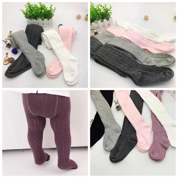 best selling 100% cotton Baby Leggings Kids Cotton Pantyhose Girls Fashion Tights Toddler Autumn Stockings Spring Princess Pants Pantyhose Pant Sock