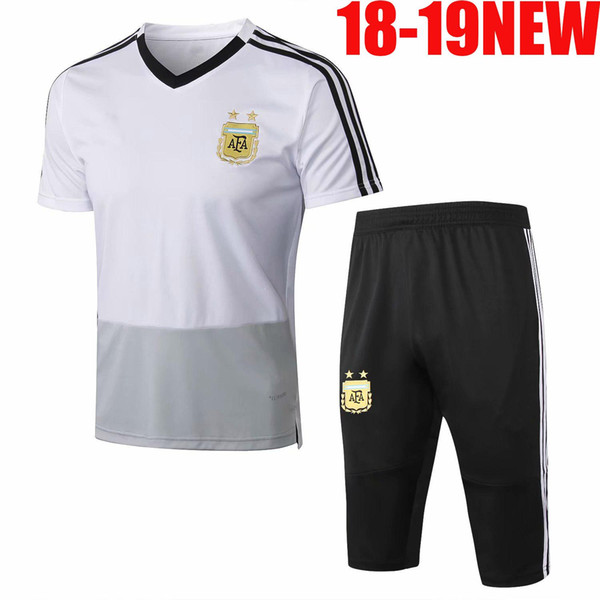 2018 2019 World Cup Soccer Spain Polo Shirt 18 19 Colombia Belgium Argentina Custom Adult Football Training suit